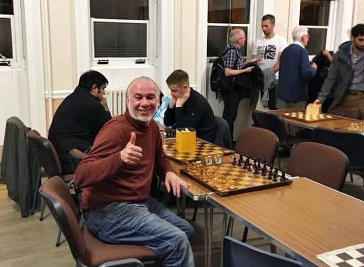 """الشطرنجي المخضرم """"جلال شاهين"""""""