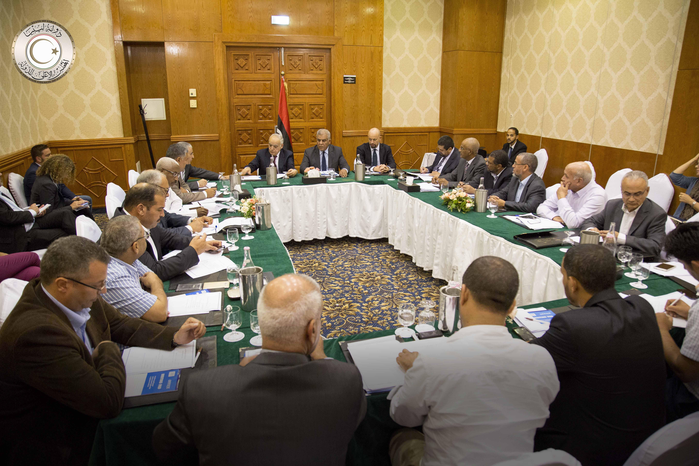 مفاوضات تعديل الاتفاق السياسي