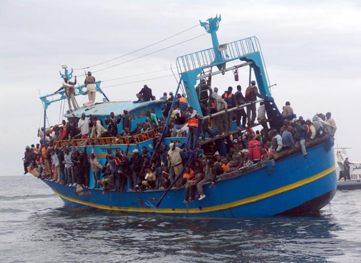 الهجرة غير الشرعية الى ايطاليا من ليبيا