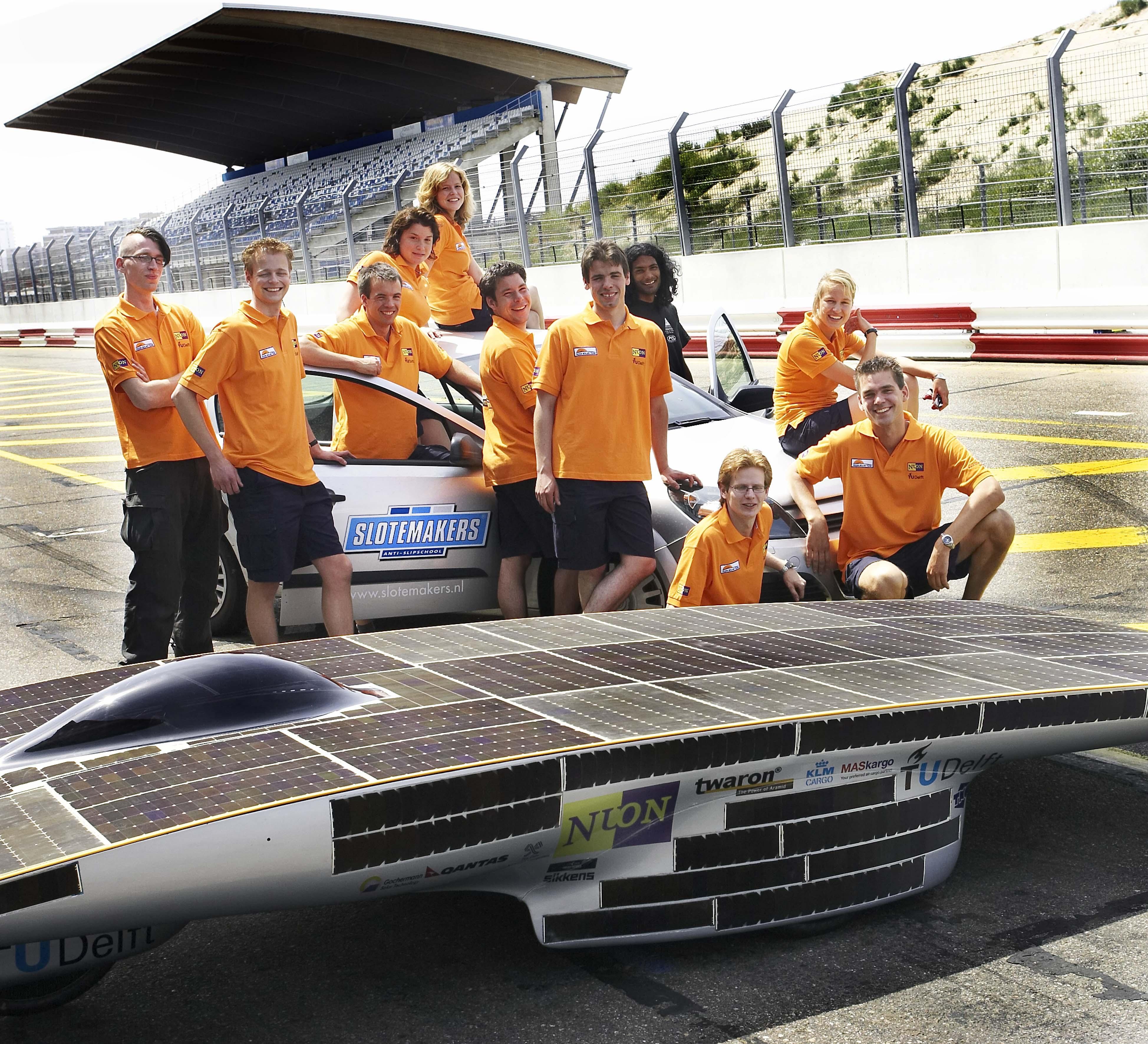 سباق الطاقة الشمسية