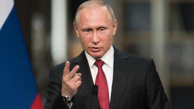 صورة بوتين يدعو لإجراءات ضد استخدام الإنترنت لنشر التطرف