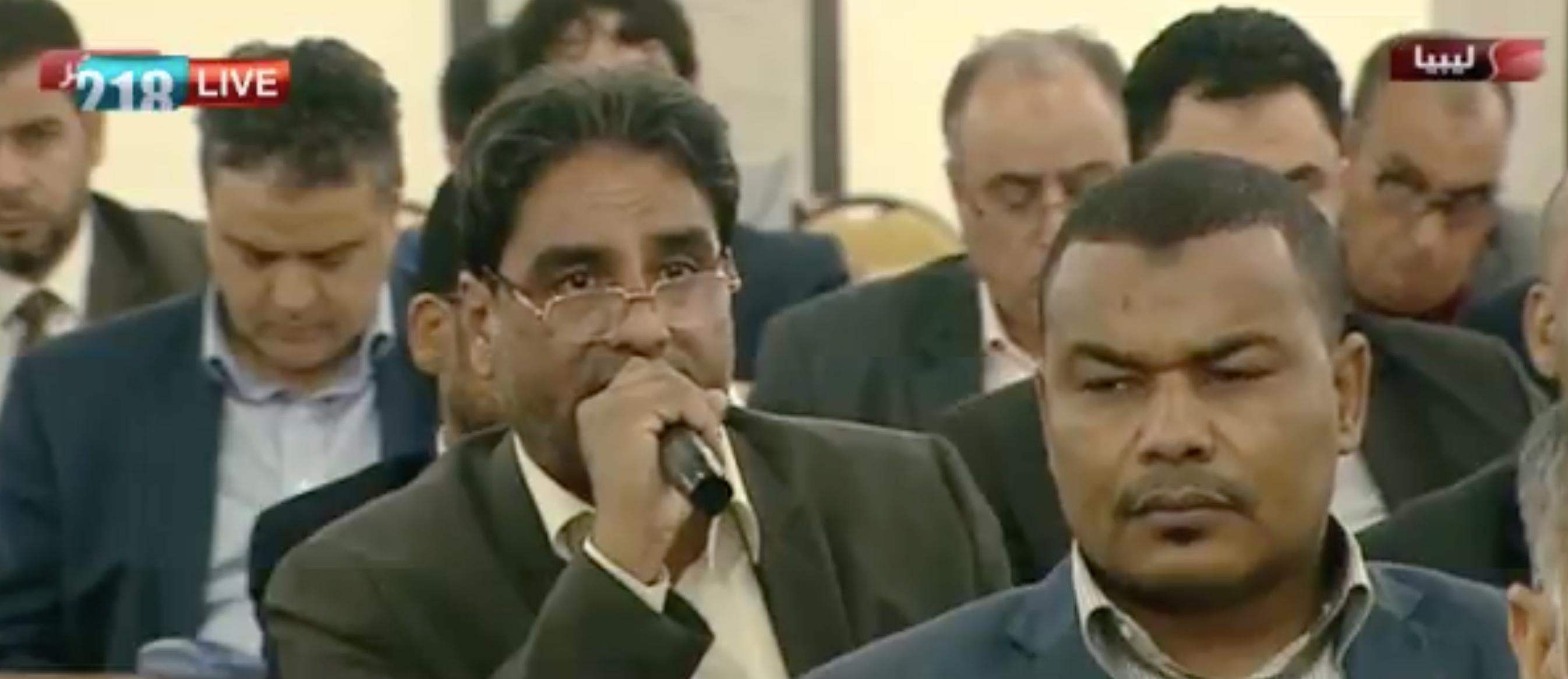 Photo of عبدالسلام نصية: نخشى من الضغوط التي قد تمارس على رئيس الوزراء