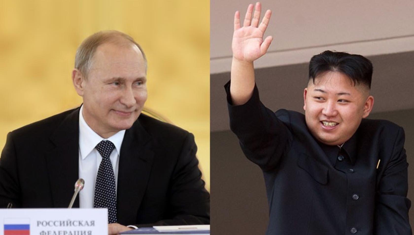 كوريا الشمالية ورسيا