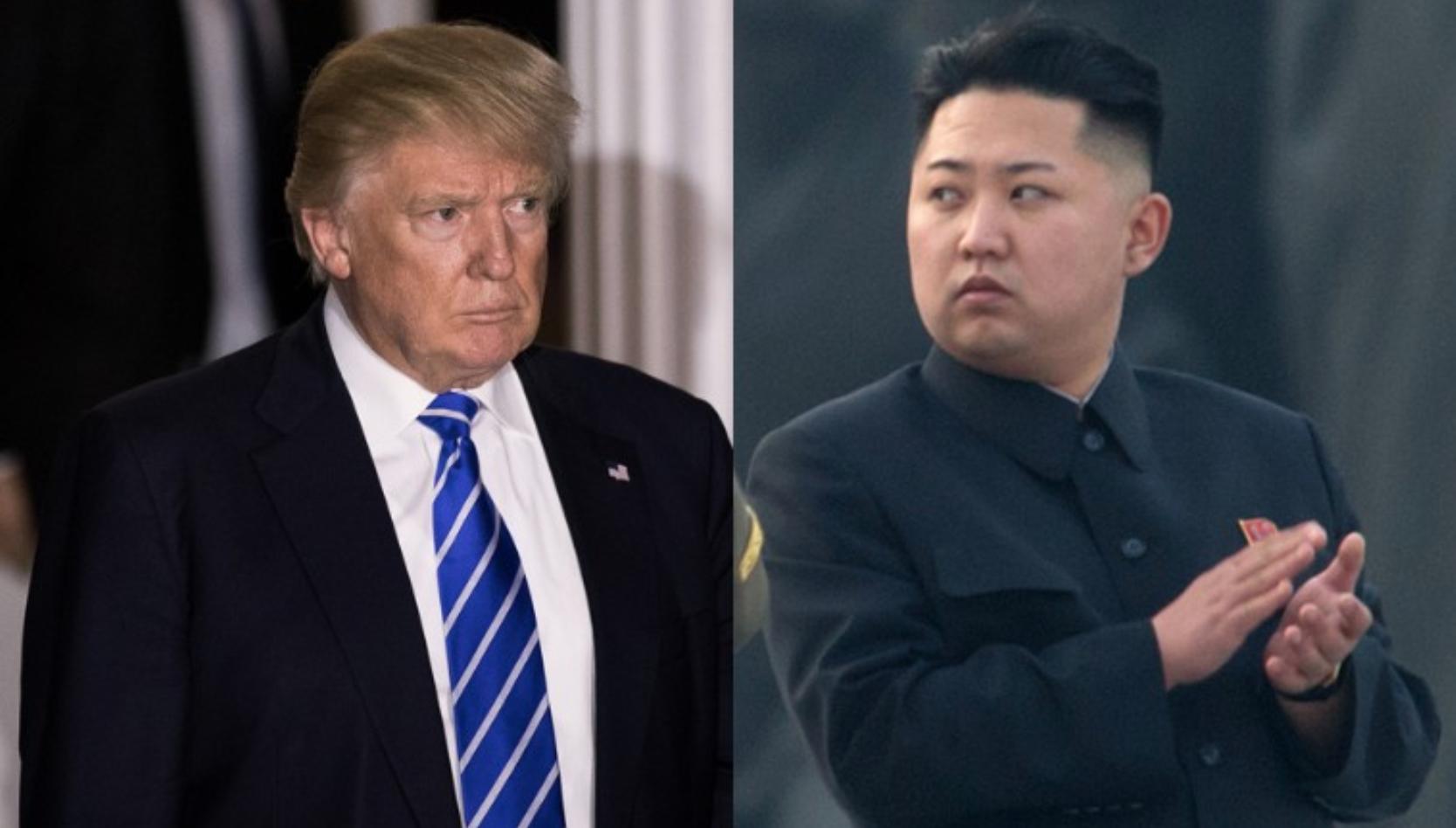 كيم جونغ أون و دونالد ترامب