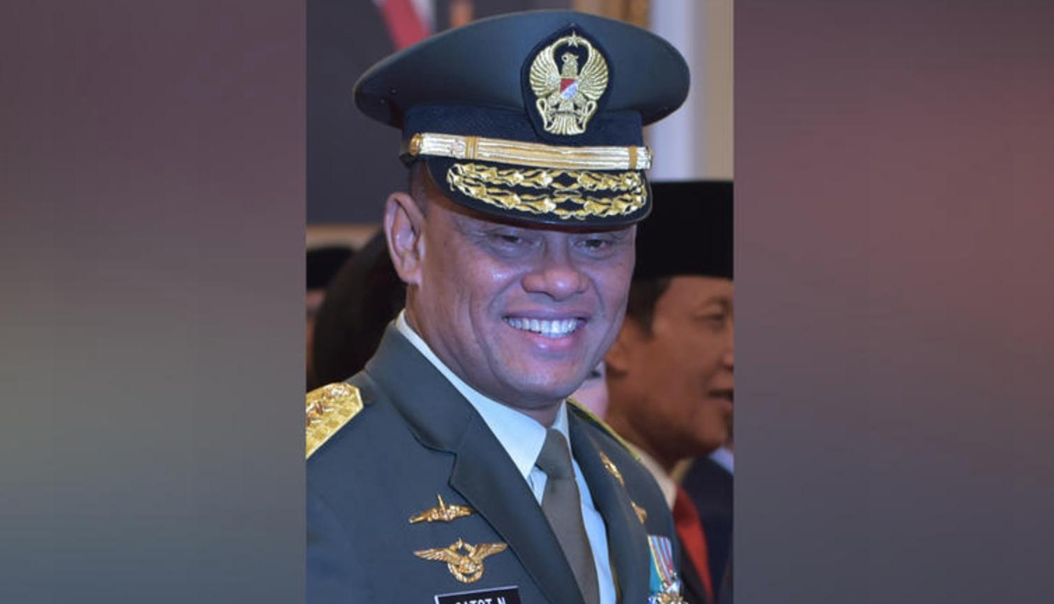 """قائد القوات المسلحة الإندونيسية """"جاتوت نورمانتيو"""""""