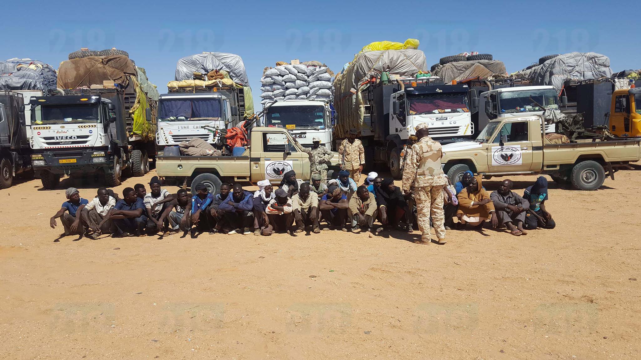 "Photo of إحباط ""عملية تهريب"" كبيرة على الحدود الجنوبية (صور)"