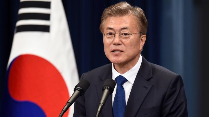 """رئيس كوريا الجنوبية """"مون جيه-إن"""""""
