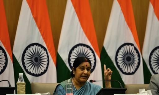 """وزيرة خارجية الهند """"سوشما سواراج"""""""