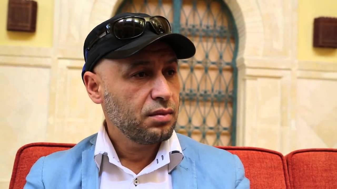 المهدي الحاراتي حين كان عميد بلدية طرابلس