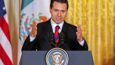 الرئيس المكسيكي إنريكي بينيا نييتو