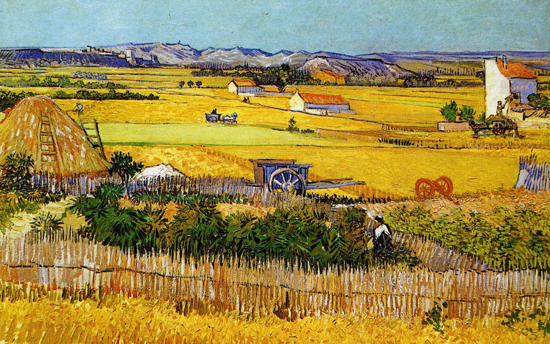 لوحات فان جوخ
