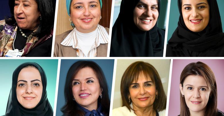 أقوى السيدات العربيات