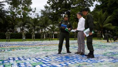 أكبر كمية كوكايين مُهربة في تاريخ كولومبيا
