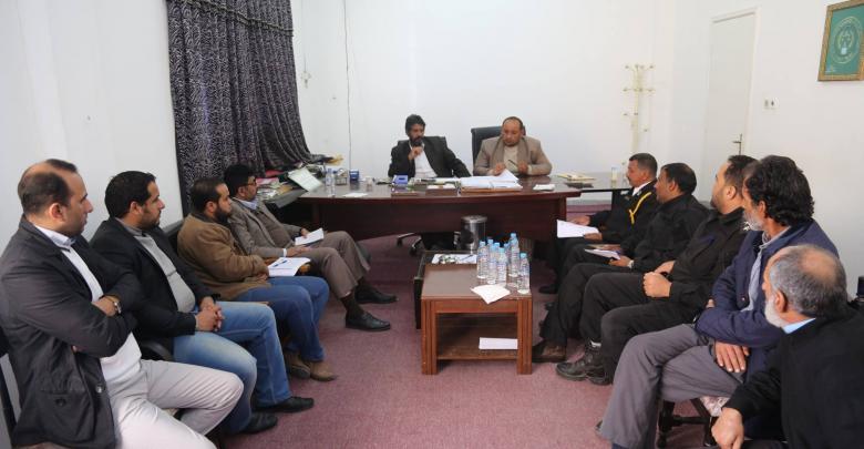 اجتماعٌ حول الأمن الغذائي والصحي في البيضاء