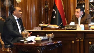 """Photo of """"السراج"""" يستقبل عميد بلدية سرت في العاصمة"""