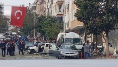 انفجار مصنع للطلاء في تركيا