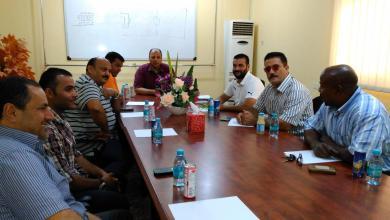 لجنة الانتخابات المكلفة من الأولمبية الليبية