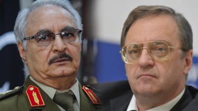 صورة مولوتوكوف: حفتر طلب السلاح من روسيا وهذا موقفنا في ليبيا