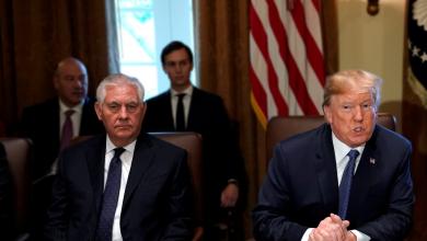 دونالد ترامب وريكس تيلرسون