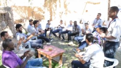 رسل السلام يذهب بـالجوالة بنغازي إلى غدامس