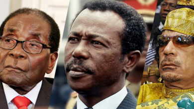 Photo of من القذافي إلى موغابي.. نظرة على حكام أفريقيا الذين أُطيح بهم