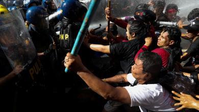 قبل قمة آسيان في الفلبين.. مظاهرات تردد هتاف يسقط ترامب