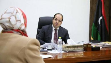 """Photo of """"معيتيق"""" يلتقي مديرة المركز العام لتدريب وتطوير المعلمين"""