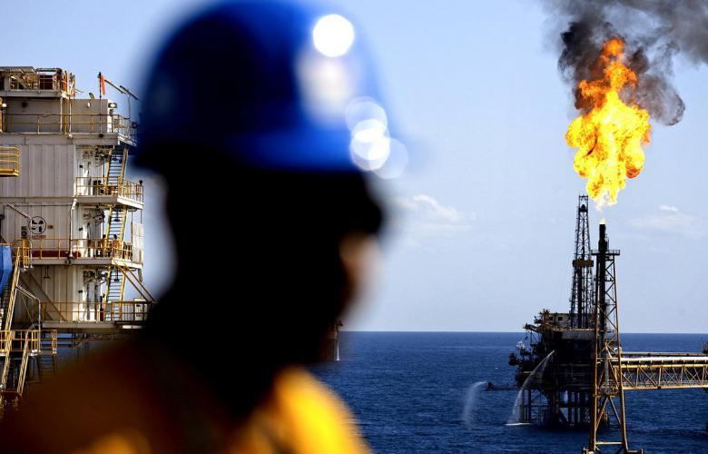 حقل الجرف النفطي - صور ارشيفية