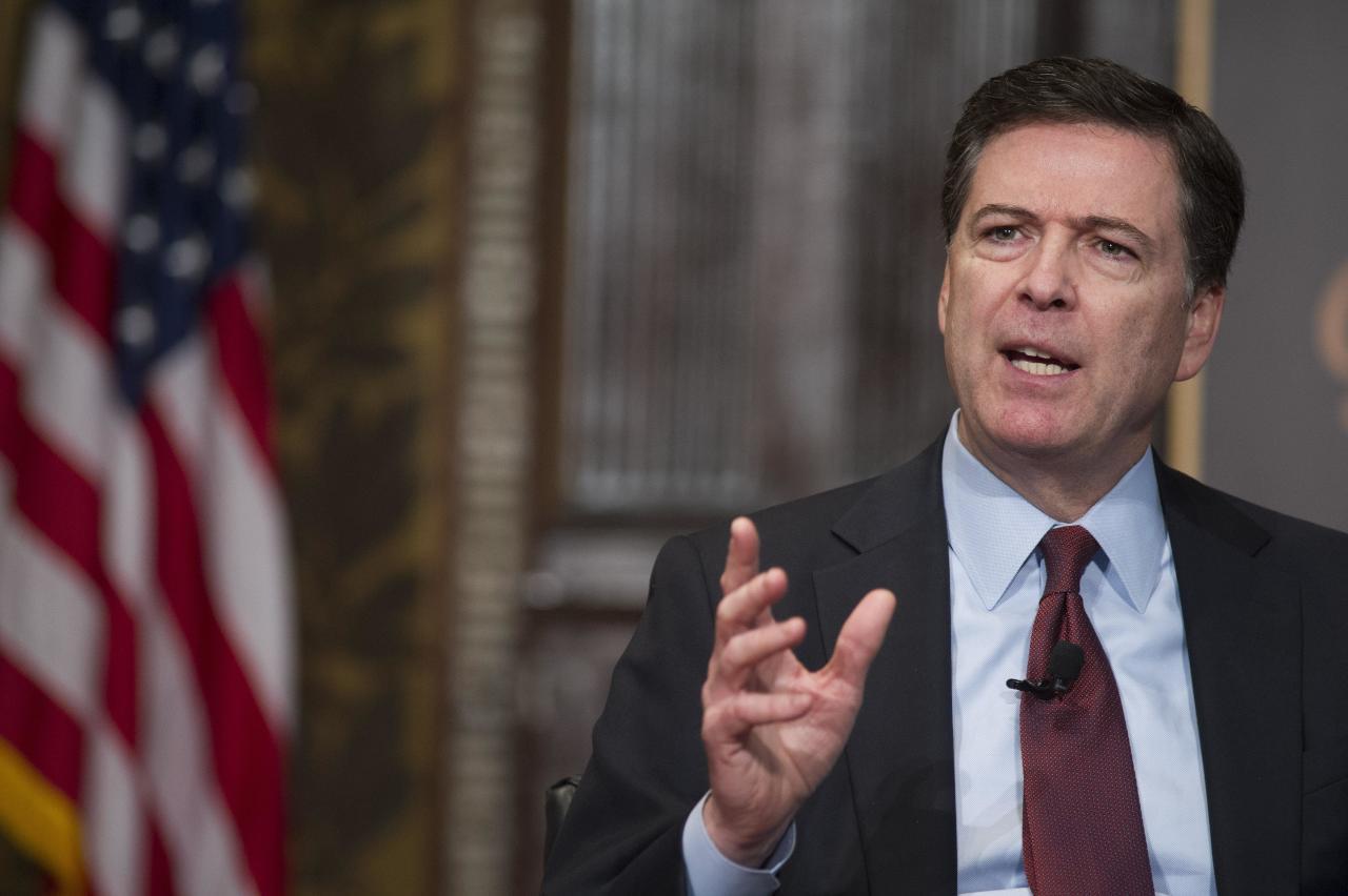 رئيس مكتب التحقيقات الفيدرالي السابق جيمس كومي
