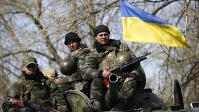 جنود أوكرانيين