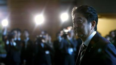 شينزو آبي رئيسا لوزراء اليابان