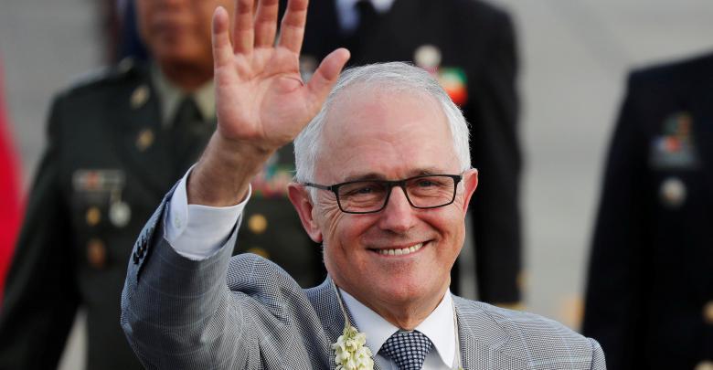 رئيس الوزراء الأسترالي مالكولم ترنبول