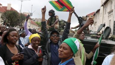 الرئيس زيمبابوي روبرت موغابي