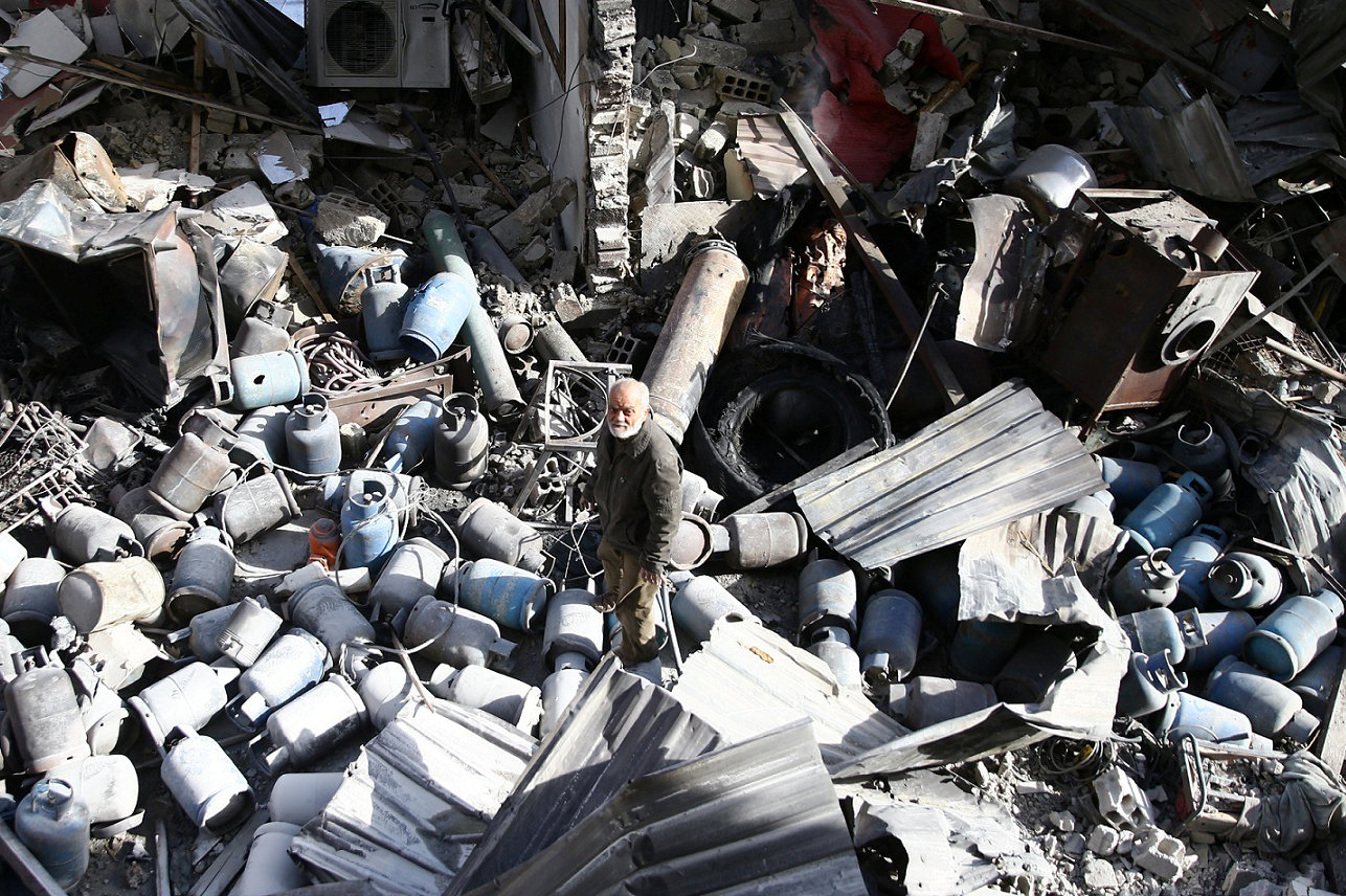 الغوطة الشرقية ما بعد الهجوم