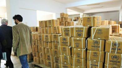 بنغازي تتلقى مساعدات أممية أساسية