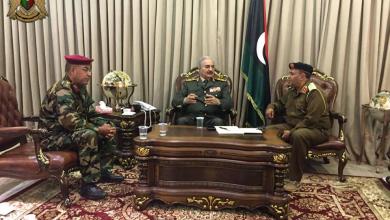 Photo of المشير يطلع على الأوضاع العسكرية في ورشفانة
