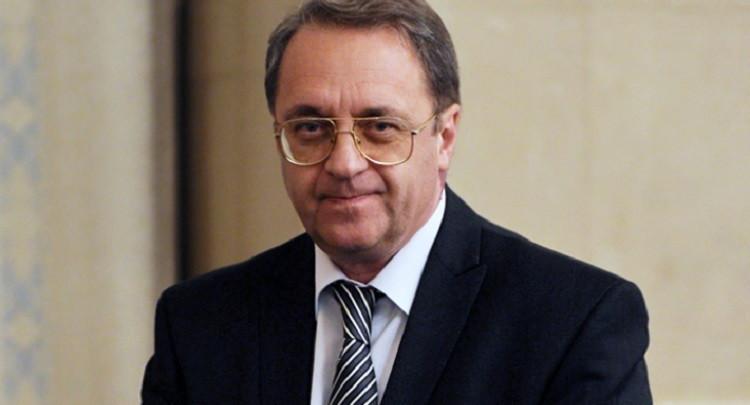 وزير الخارجية ميخائيل بوغدانوف