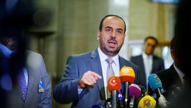 """رئيس وفد المعارضة السورية في المحادثات """"نصر الحريري"""""""