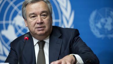 الأمين العام للأمم المتحدة انطونيو غوتيريس