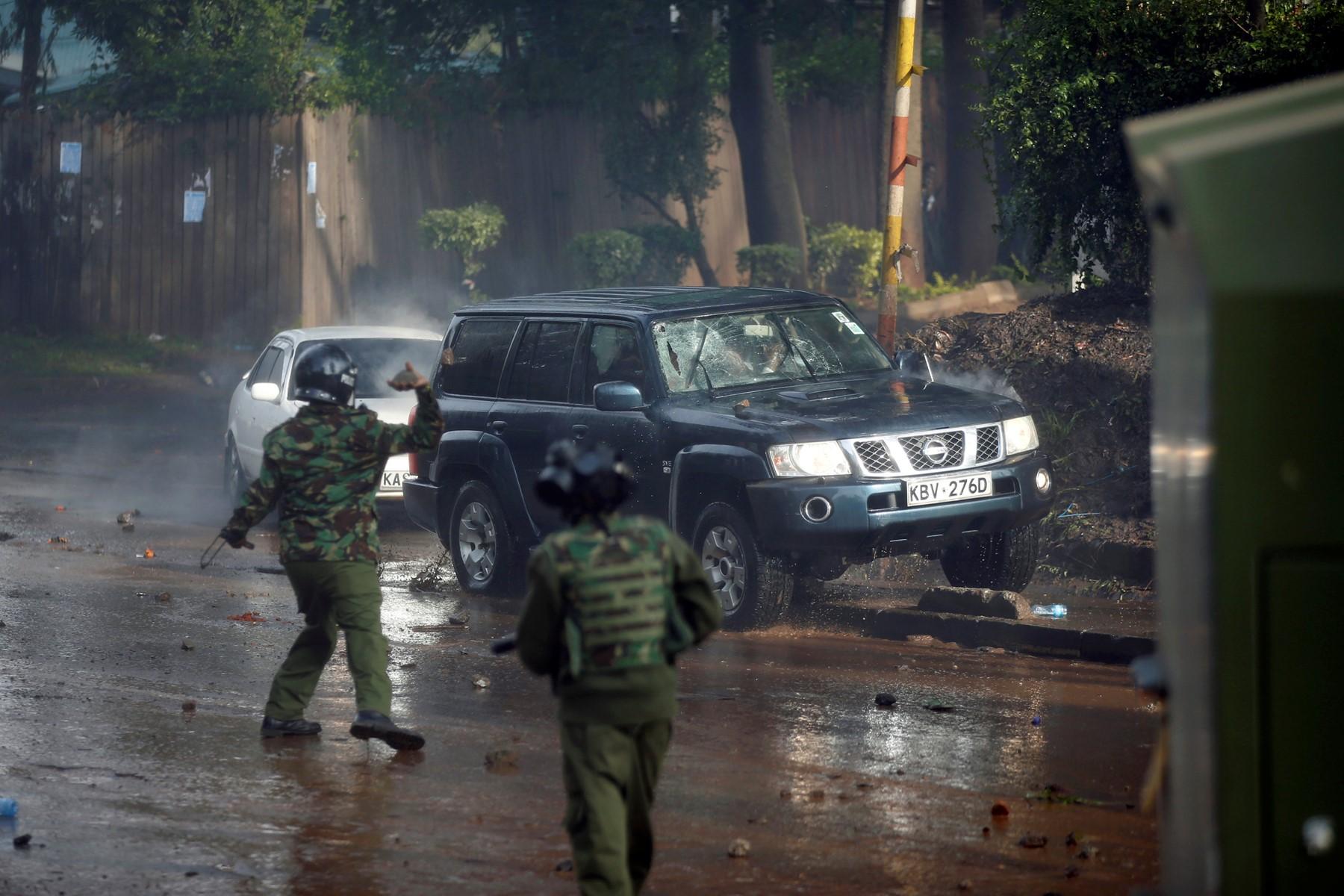 الشرطة الكينية