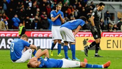 المنتخب الإيطاليا