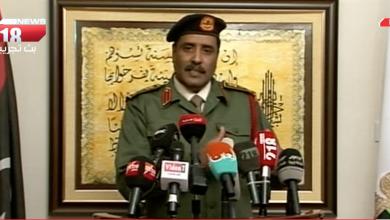Photo of العميد أحمد المسماري: أي إجراءات قبض دون أمر إحضار من النيابة العسكرية لا يعتد بها