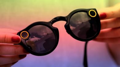 """صورة """"سناب شات"""" تتعثر بنظاراتها!"""