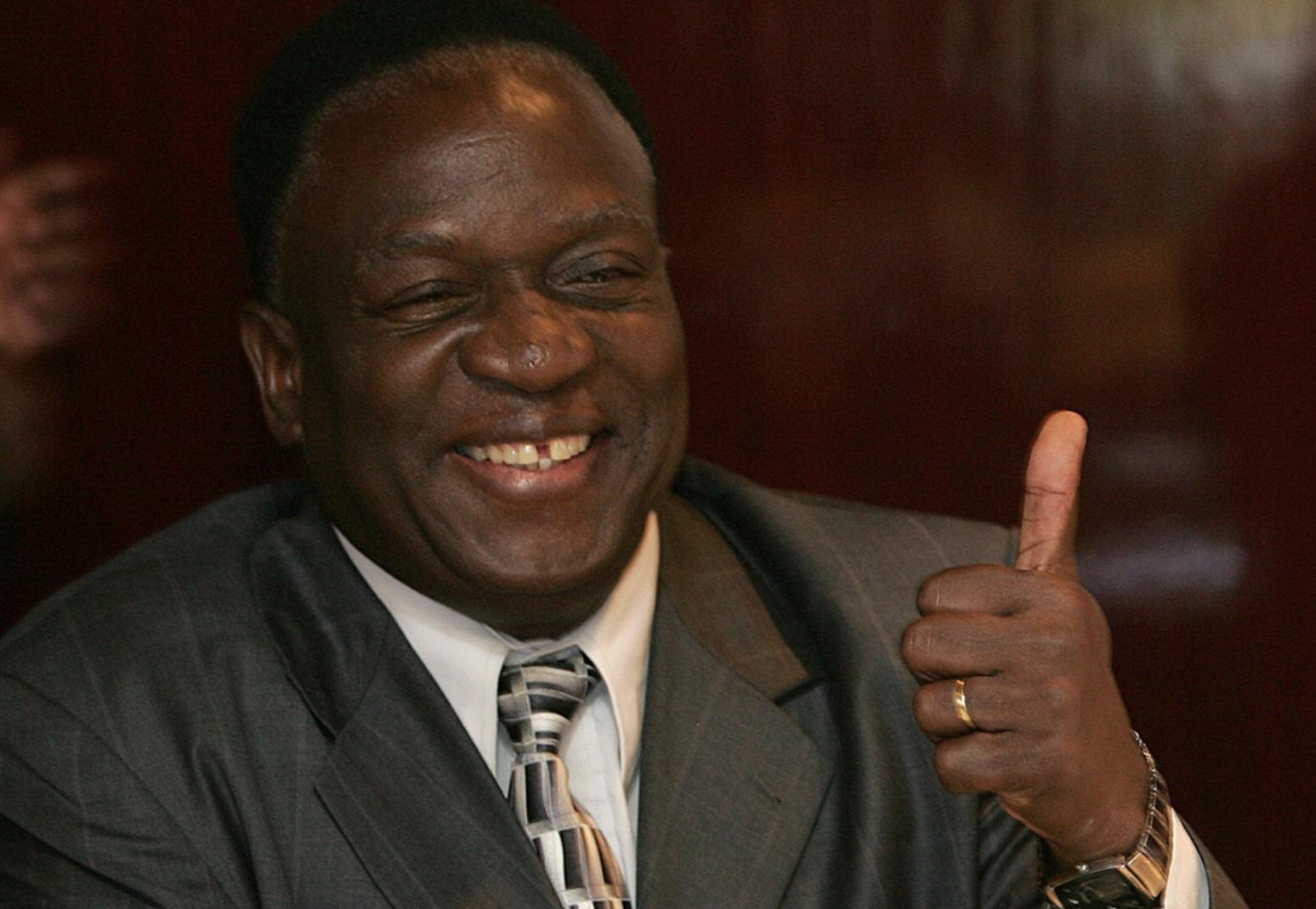 رئيس زيمبابوي المقبل إمرسون منانغاغوا