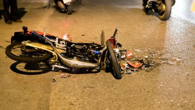 حوادث الدراجات النارية