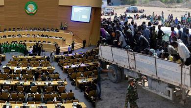 """صورة الاتحاد الأفريقي يطالب بالتحقيق في أسواق """"النخاسة الليبية"""""""