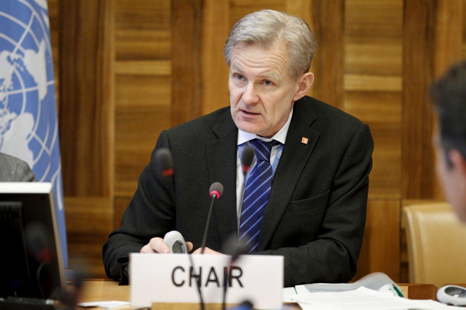 يان إيجلاند مستشار الأمم المتحدة للشؤون الإنسانية في سوريا