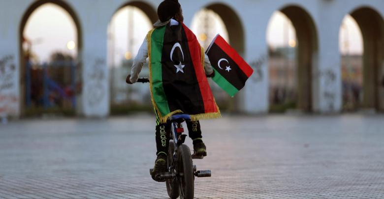 علم ليبيا - تعبيرية
