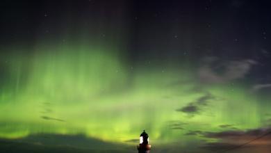 Photo of شاهد.. صور مُذهلة لأضواء الشفق القطبي