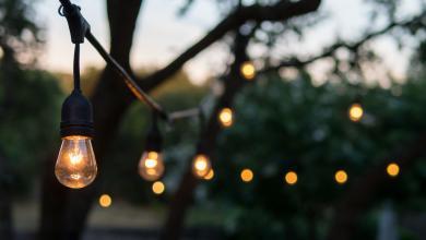 ضوء مصابيح